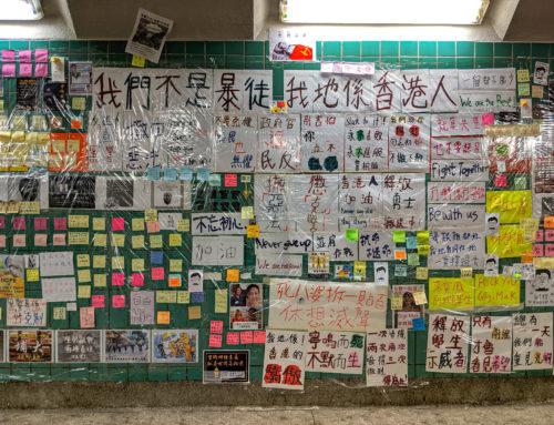 O Hongkong se nyní bojuje na univerzitách