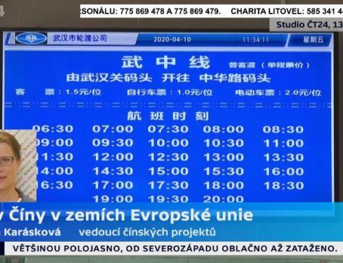 Ivana Karásková na ČT24 očínském vlivu vEvropě